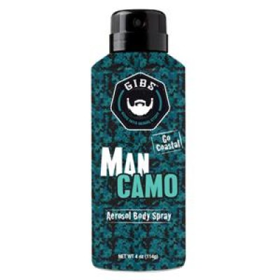 "MAN CAMO FRAGRANCE POUR LE CORPS ""GO COASTAL"" 118ML - GIBS"