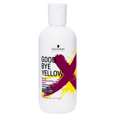 SHAMPOOING GOODBYE YELLOW NEUTRALISANT 300ML - SCHWARZKOPF